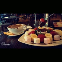 Photo taken at Max Brenner Chocolate Bar by Roma on 1/18/2016