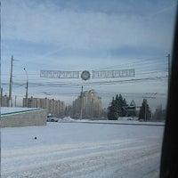 Photo taken at Памятник Танкистам by Kirill C. on 1/22/2014