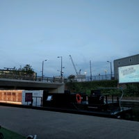 Photo taken at The Floating Cinema by Ralph J. on 9/1/2016