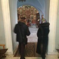 Photo taken at Знаменская церковь by Василий Ф. on 1/25/2014