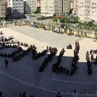 Photo taken at Medine Tayfur Sokmen Lisesi by Tuba T. on 5/16/2014