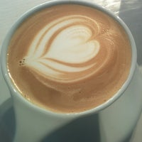 Photo taken at MAKE Coffee + Stuff by Jaesung C. on 6/28/2014
