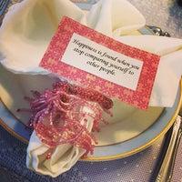 Photo taken at The Secret Garden Tea Cafe & Gift Shoppe by Sara A. on 5/21/2014