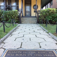 Photo taken at Martin Luther King Jr. Birth Home by kris g. on 10/27/2017