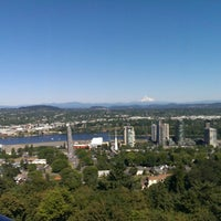 Photo taken at Portland Aerial Tram - Lower Terminal by Duhwayne D. on 7/4/2013