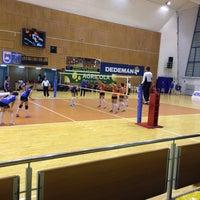 Photo taken at Sala Sporturilor by Horia-Octavian A. on 2/3/2016