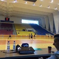 Photo taken at Sala Sporturilor by Horia-Octavian A. on 4/9/2016