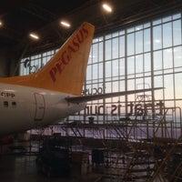 Photo taken at FL Technics, Aircraft Maintenance and Repair Organisation by Donatas P. on 2/4/2017
