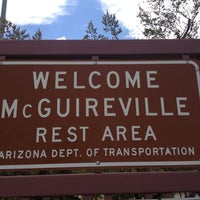 Photo taken at McGuireville Rest Area by Stephanie F. on 6/28/2013