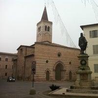 Photo taken at Comune di Foligno by Alessio C. on 1/8/2014