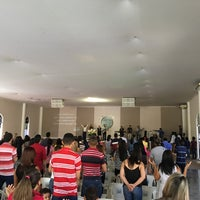 Photo taken at Igreja Mensagem De Paz by Fabricio Alex on 7/31/2016