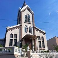 Photo taken at Matriz Nossa Senhora De Lourdes by Petrus M. on 1/8/2014