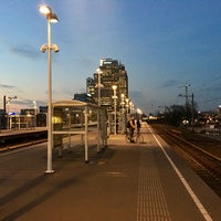 Photo taken at Metrostation Spaklerweg by Thomas v. on 2/2/2017