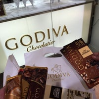 Photo taken at Godiva Chocolatier by Ziyad on 11/20/2014