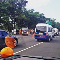 Photo taken at Tol Jagorawi KM 22 by Christy B. on 6/10/2015
