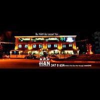 Photo taken at Han Restaurant & Cafe by Burak K. on 2/10/2015