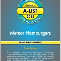 Photo taken at Meteor Hamburgers by Scott B. on 8/6/2015