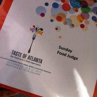 Photo taken at Taste of Atlanta by Dee Dee C. on 10/27/2013