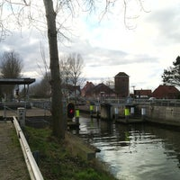 Photo taken at Florizoonebrug by Stefaan C. on 2/14/2015