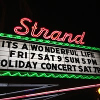 Photo taken at Strand Theater by Kate on 12/14/2012
