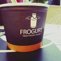 Photo taken at Frogurt by Přemek P. on 12/11/2016