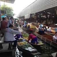 Photo taken at Damnoen Saduak Floating Market by ALEK on 10/20/2012