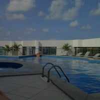 Photo taken at Radisson Hotel Maceio by Gustavo B. on 9/14/2012