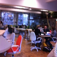 Photo taken at The Hub Amsterdam by Brian F. on 12/11/2012
