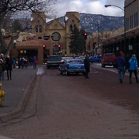 Photo taken at Santa Fe Plaza by allison s. on 12/27/2012