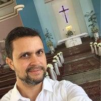 Photo taken at Igreja Nossa Senhora da Assunção by Thiago M. on 10/1/2015