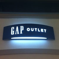 Photo taken at GAP Outlet by Yee X. on 1/15/2013