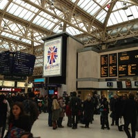 Photo taken at Charing Cross Railway Station (CHX) by PAULO C. on 3/28/2013