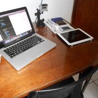 Photo taken at Paiva's Home Office by Rodrigo P. on 6/5/2014