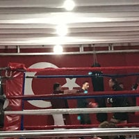 Photo taken at Yokuş Fight  Club 2 by Mehmet S. on 12/23/2016