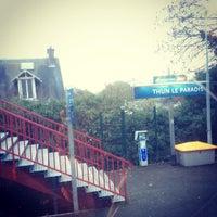 รูปภาพถ่ายที่ Gare SNCF de Thun-le-Paradis โดย Странник П. เมื่อ 12/17/2013