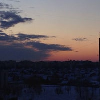 Photo taken at Микрорайон Терёхина by Alexandra S. on 4/7/2014
