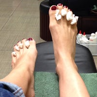 Photo taken at Kiwi Nail Lounge by Kima on 12/23/2013