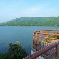 Photo taken at Lam Takong Dam by kittipong P. on 11/1/2012
