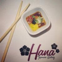 Photo taken at Hana Japanese Eatery by Christopher G. on 4/20/2013