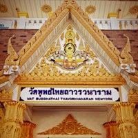Photo taken at Wat Buddha Thai Thavorn Vanaram by Thiti P. on 10/1/2012