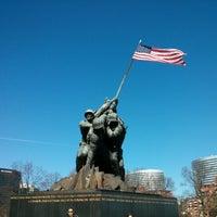Photo taken at US Marine Corps War Memorial (Iwo Jima) by Lucas N. on 1/20/2013