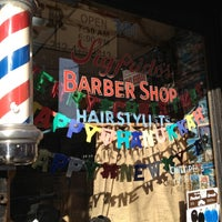 Photo taken at Sigfrido Barber Shop by Alaina B. on 12/15/2012