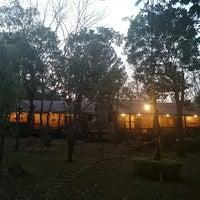 Photo taken at Chachanat Woodland Resort by Sirikan on 1/7/2014