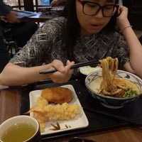 Photo taken at Marugame Udon by Ratu S. on 12/16/2017