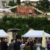 Photo taken at Ledeburská zahrada   Ladeburg Garden by Petr P. on 6/18/2015