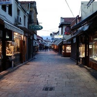 Photo taken at Стара скопска чаршија | Skopje Old Bazaar by Jan S. on 2/2/2013