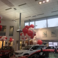 Photo taken at Southern Volkswagen at Greenbrier by Chris Costner on 2/12/2016