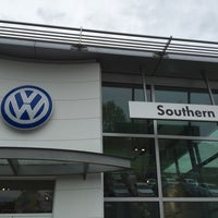 Photo taken at Southern Volkswagen at Greenbrier by Chris Costner on 4/1/2016