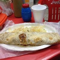 Photo taken at Tacos El Guero Baynas by Hugo P. on 2/2/2014