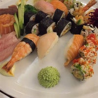 Photo taken at Kymata Sushi Bar by Eleni B. on 11/27/2014